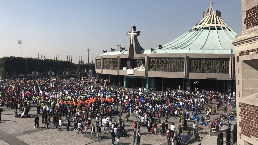 Lista la Basílica para celebración de apariciones de la Virgen de Guadalupe - Foto de Twitter Desde La Fe