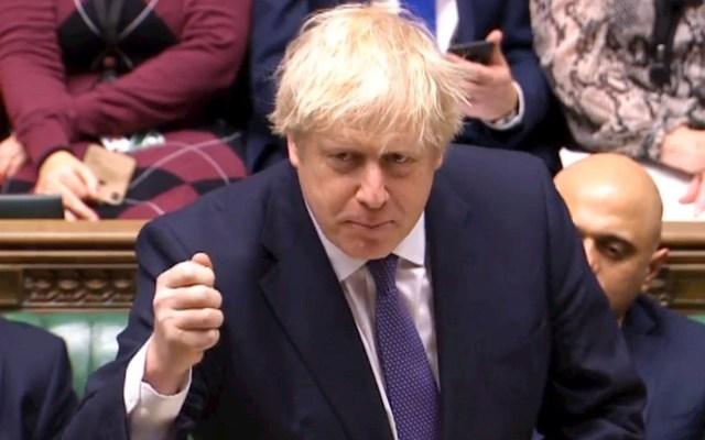 Reino Unido aprueba el acuerdo de Brexit de Boris Johnson - Johnson pide unidad al Parlamento al abrir el debate del acuerdo del