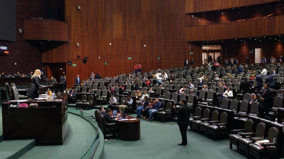 Diputados desechan dictamen para reducir dieta de partidos políticos - Cámara de Diputados sesión 12 12 2019 01