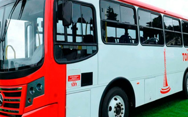 Pasaje en el Estado de México subirá el 1 de enero de 2020 - Camión del transporte público del Estado de México. Foto de @SEMOV.Edomex