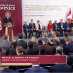 Firma del Protocolo Modificatorio al Tratado entre México, Estados Unidos y Canadá