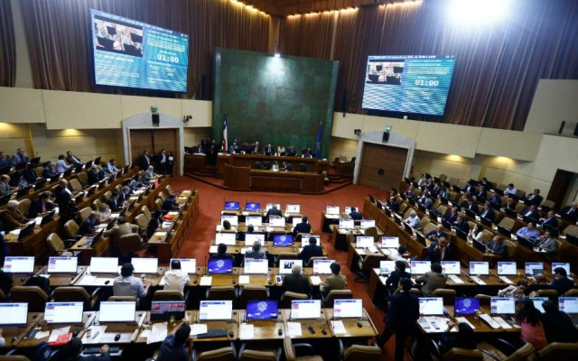 Aprueban en lo general reformas a la Constitución de Chile - Foto de Cámara de Diputados de Chile