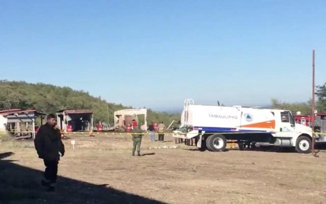 Explosión en punto de venta de pirotecnia en Tamaulipas deja siete heridos - Ciudad Victoria Tamaulipas explosión pirotecnia