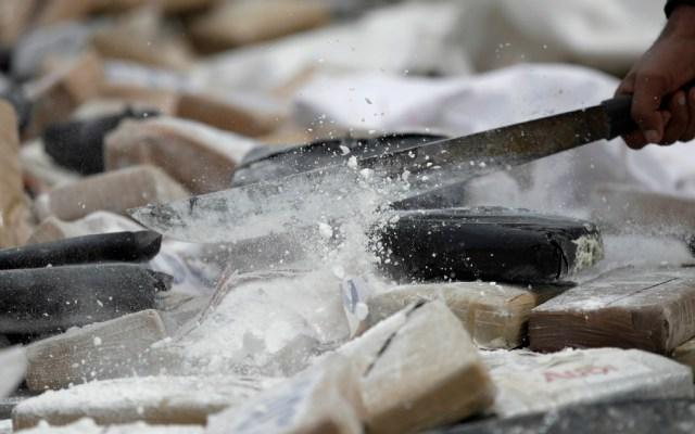 Aseguran 11 kilos de cocaína en Chiapas - Cocaína, archivo. Foto de EFE