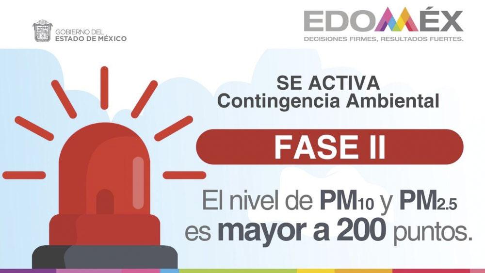 Activan Fase 2 de Contingencia Ambiental en Toluca y Santiago Tianguistenco - Activan Fase 2 de Contingencia Ambiental en Toluca y Santiago Tianguistenco