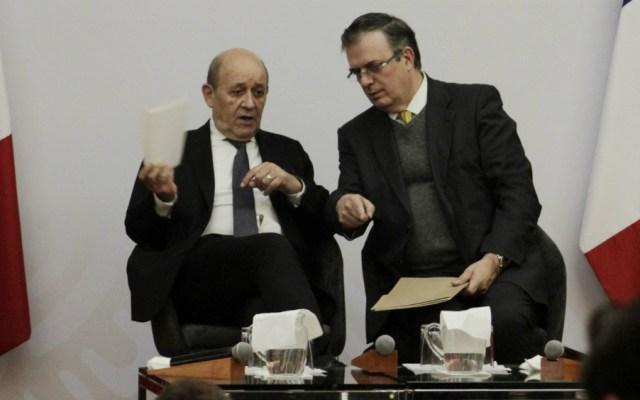 Van México y Francia por un multilateralismo eficaz - Foto de Notimex