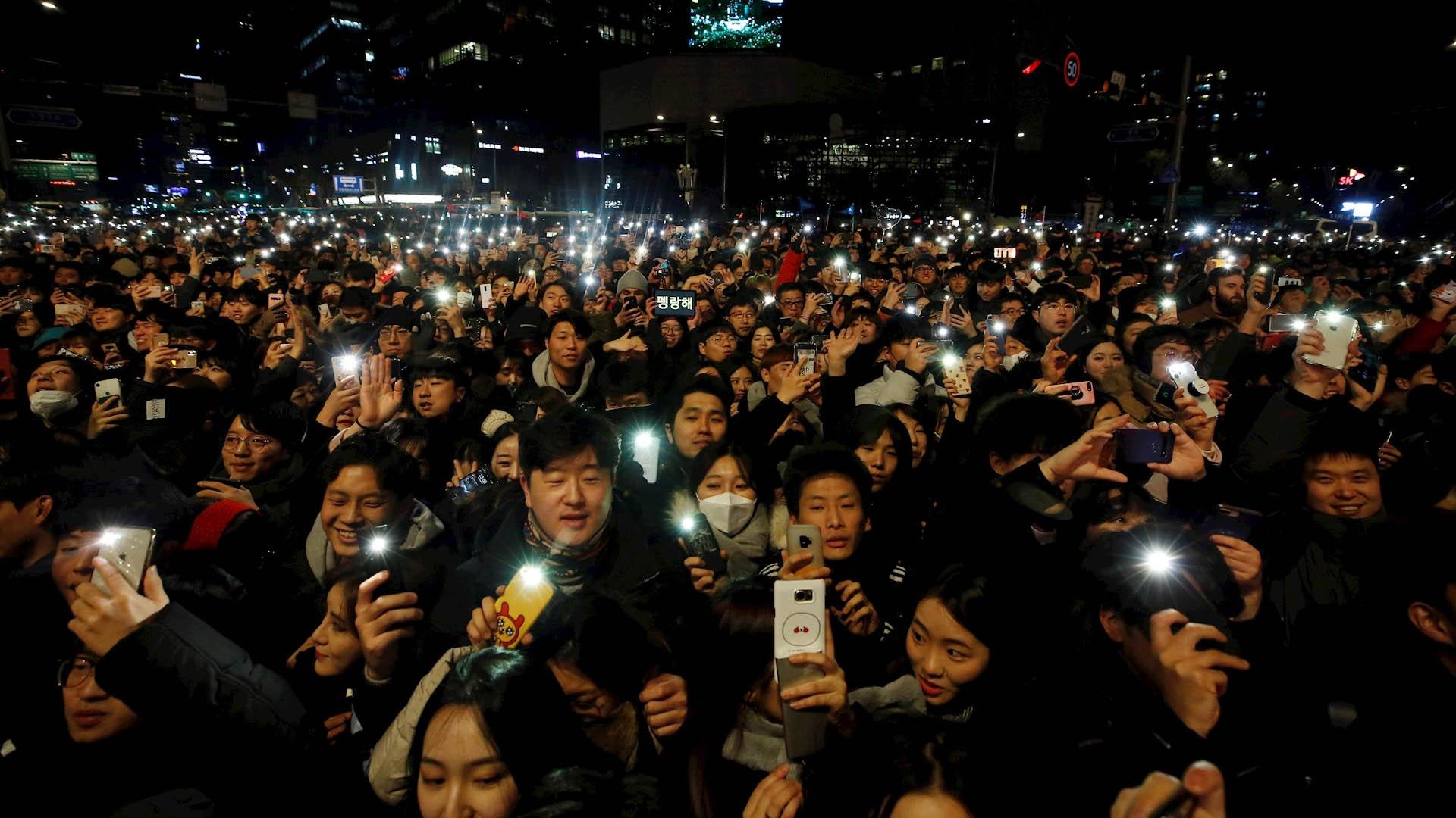Corea del Sur Año Nuevo Celebración 2