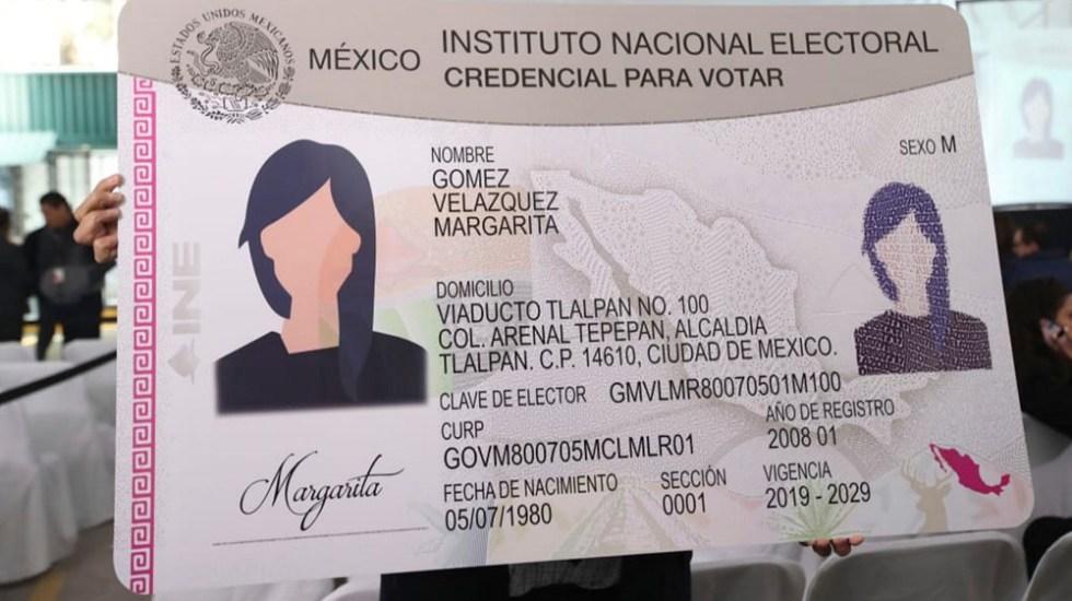 Nueva credencial para votar es la más segura en la historia, asegura INE - Nueva credencial para votar es la más segura en la historia: INE