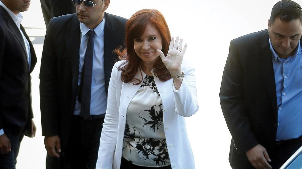 Cristina Fernández acude a declarar por caso de corrupción - Foto de EFE