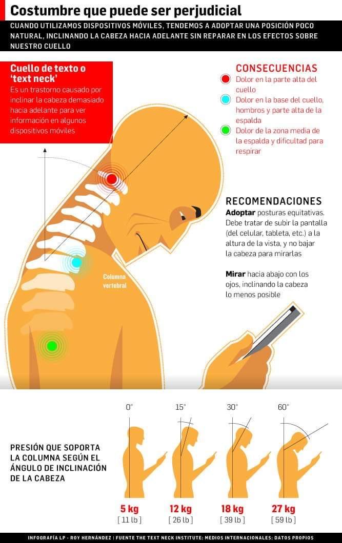 daños a la postura