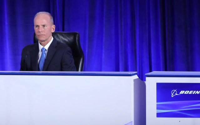 Renuncia Dennis Muilenburg, CEO de Boeing - Foto de archivo del ahora exconsejero delegado de Boeing, Dennis Muilenburg. Foto de EFE.