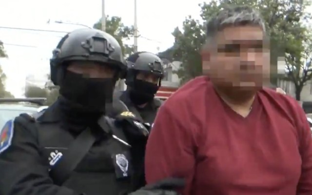 Cae sujeto que mantenía a menor de edad privada de la libertad en Coyoacán - Foto de SSC CDMX