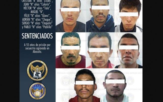 Condenan a 55 años de cárcel a banda de secuestradores en Guanajuato - Foto de Fiscalía de Guanajuato