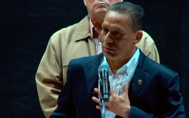 Rector de UG se disculpa por omisión en asesinatos y desapariciones de estudiantes - Disculpas del rector de la UG. Captura de pantalla