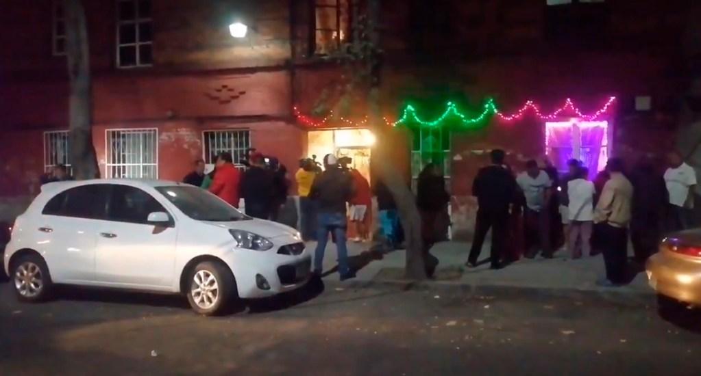Balean a mujer en Santa María la Ribera por oponerse a asalto - Domicilio de la mujer donde al llegar fue interceptada por un motociclista. Captura de pantalla / @jlleralaprensa