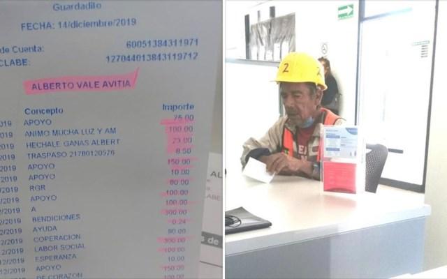 #Viral Estafan a albañil de la tercera edad y usuarios de Facebook reúnen 67 mil pesos - Don Beto