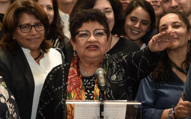 Aprueba Congreso a Ernestina Godoy como primera fiscal general de Justicia capitalina - Foto de @Congreso_CdMex