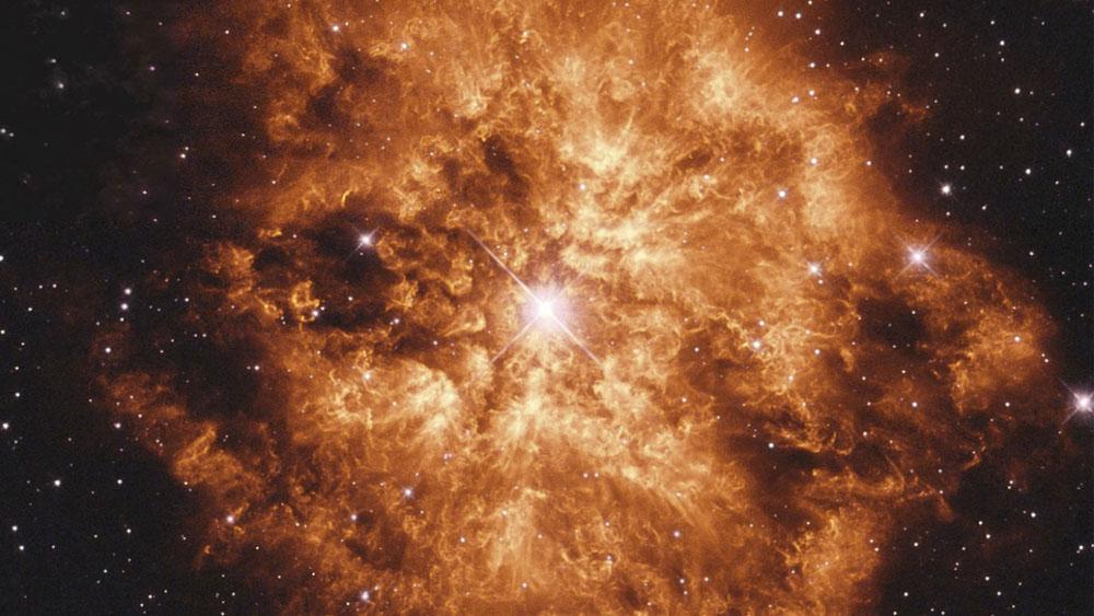 Estrella más grande que el Sol podría explotar y convertirse en supernova - Estrella más grande que el Sol podría explotar y convertirse en supernova