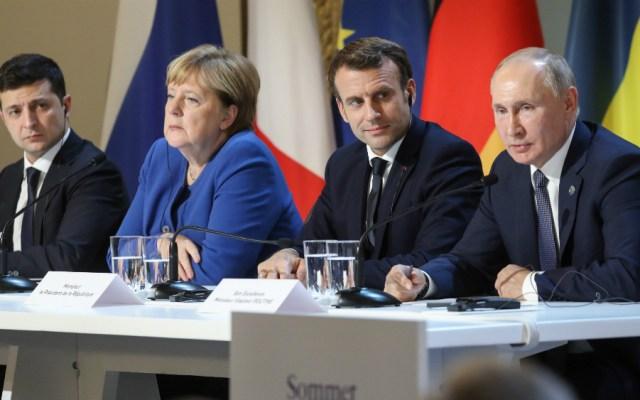 Putin y Zelenski cierran un calendario concreto para lograr la paz en Ucrania - Foto de EFE