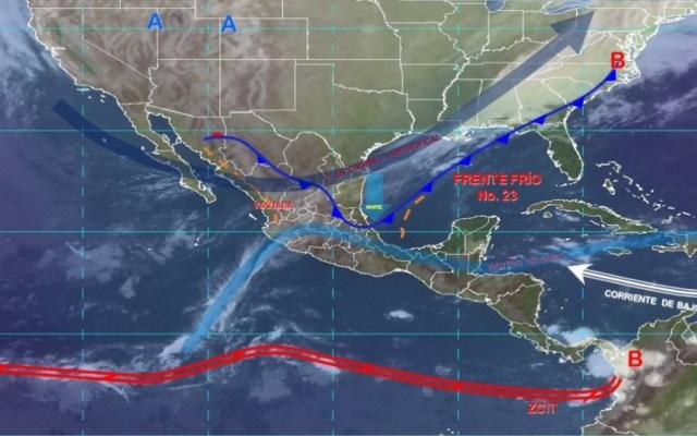 Alerta Gris en Veracruz por frente frío 23 - Mantienen alerta gris en Veracruz por frente frío