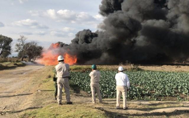 Controlan riesgo por fuga de gas en Tepeaca, Puebla - Foto de @CNPC_MX
