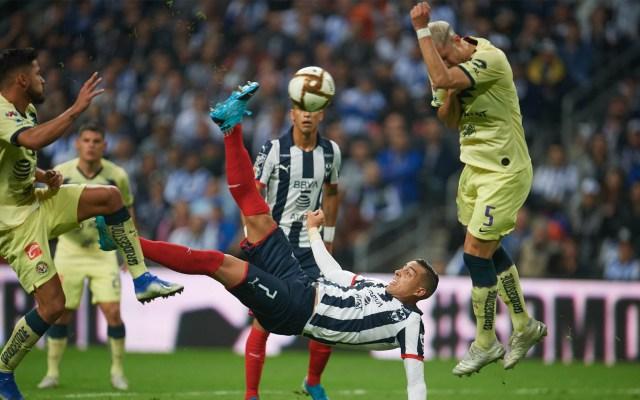 Monterrey vence al América en el último minuto - Funes Mori Monterrey gol América