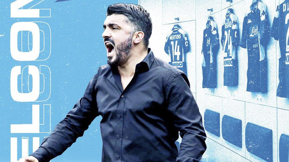 Gennaro Gattuso sustituye a Carlo Ancelotti en el Napoli - Gennaro Gattuso Napoli