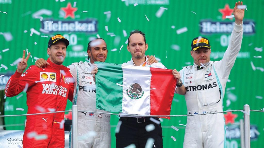 Por quinto año consecutivo el GP de México fue reconocido como el Mejor Evento de F1 - Foto de Notimex