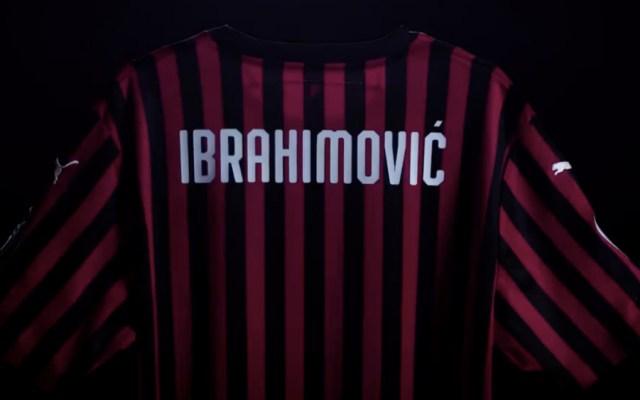 Ibrahimovic vuelve al AC Milan - Foto de captura de pantalla