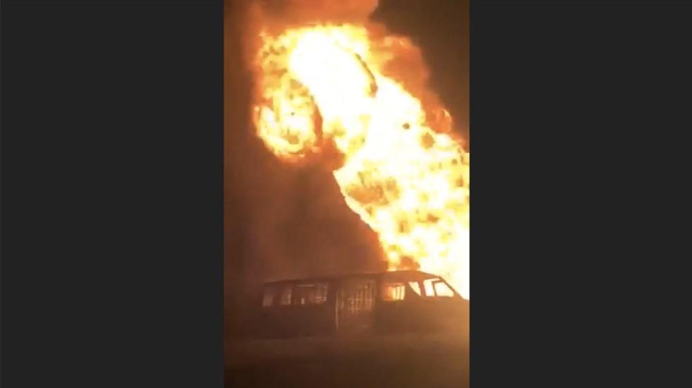 Controlan incendio en ducto de Pemex en Tijuana; no hubo desalojados - Controlan incendio en ducto de Pemex en Tijuana; no hubo evacuados