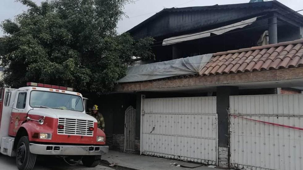 Hallan a menor muerta en domicilio incendiado en Tijuana - Incendio Tijuana vivienda menor muerta