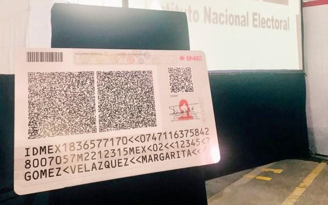 INE inicia fabricación de credenciales con código QR - INE inicia fabricación de credenciales con código QR