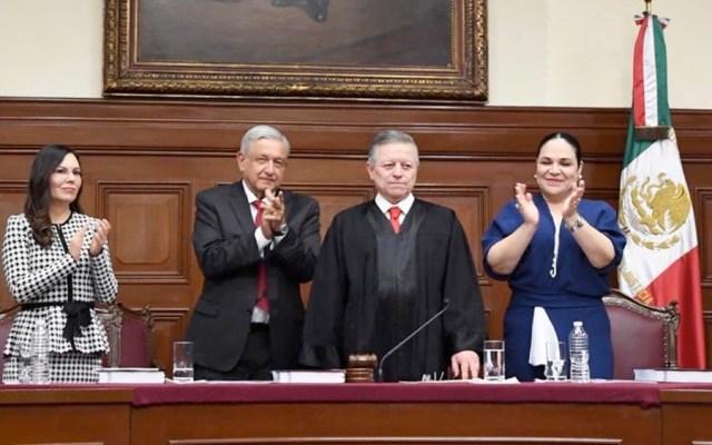 Informe de Arturo Zaldívar fue inédito al denunciar corrupción en Poder Judicial, destaca AMLO - Informe de Arturo Zaldívar fue inédito al denunciar corrupción en Poder Judicial: AMLO