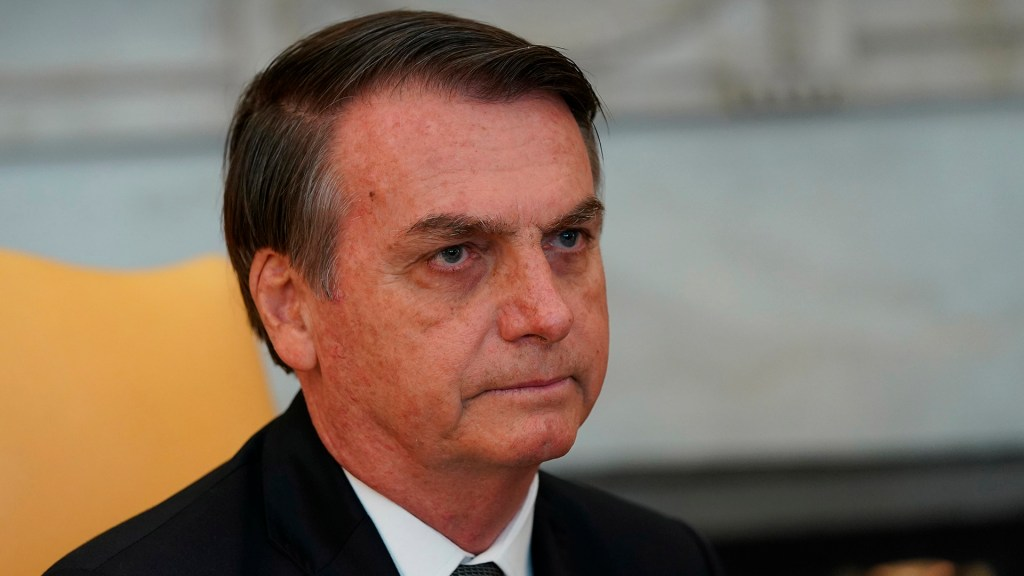 Jair Bolsonaro califica de 'juego comercial' resultados de la COP25 - Presidente Jair Bolsonaro. Foto de EFE