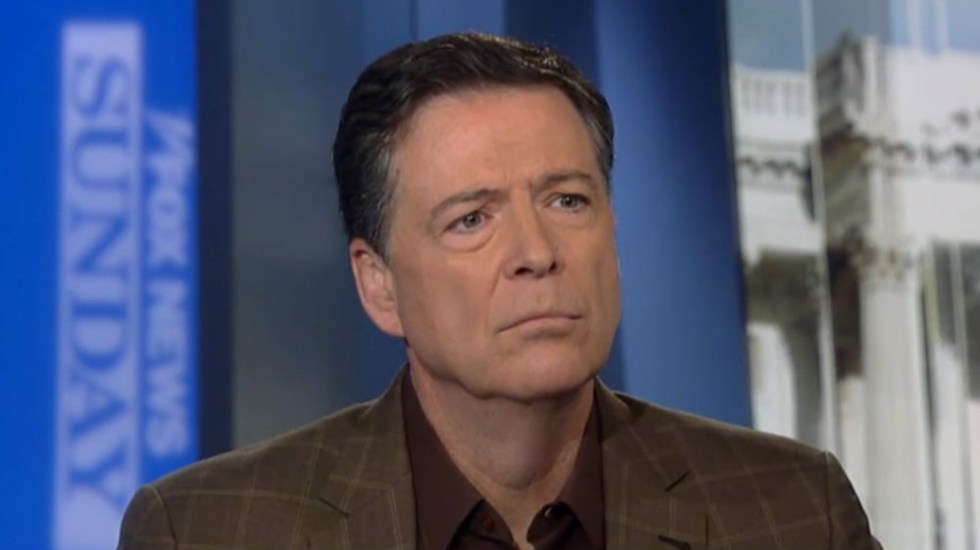 Exdirector del FBI acepta errores en investigación de presunta injerencia rusa - James Comey, exdirector del FBI. Captura de pantalla / Fox News