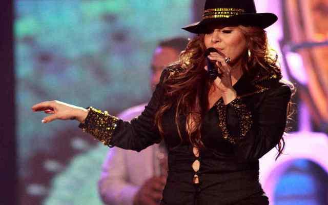 A siete años de su muerte, vigentes el nombre y legado de Jenni Rivera - Jenni Rivera en 2009 durante show en el Billboard Latin Music Awards en Miami, Florida. Foto de John Parra.