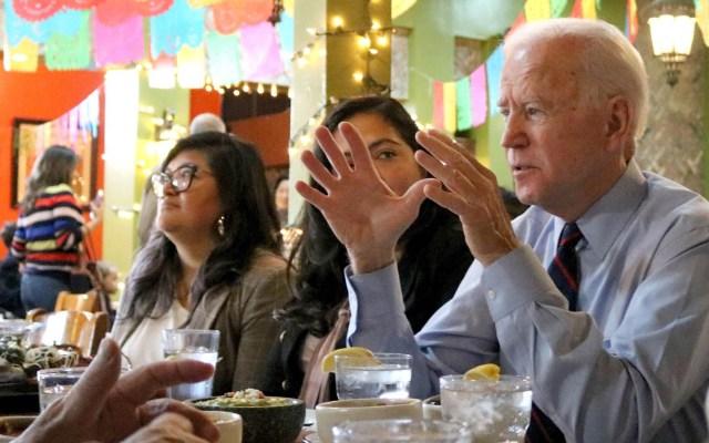 Biden se reúne con comunidad latina en Los Ángeles - Joe Biden comunidad latina Los Ángeles