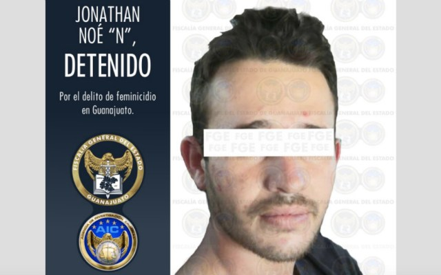 Capturan al presunto feminicida de Ana Daniela; es su exnovio - Foto de FGE Guanajuato