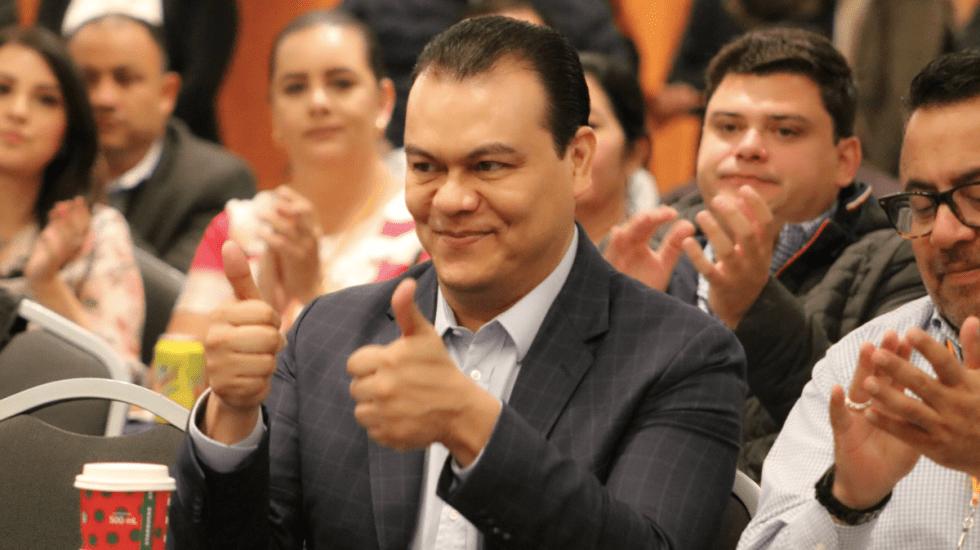 Juan Zepeda a favor de reducir financiamiento a partidos políticos - Foto de Twitter Juan Zepeda