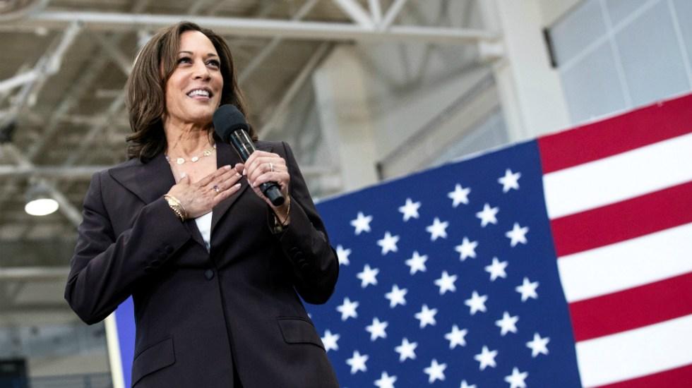 Demócratas debieron checar si Kamala Harris puede aspirar a la Vicepresidencia, expresa Trump - Foto de EFE