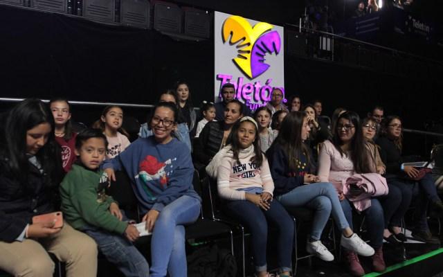 Teletón supera meta con 374 mdp en pro de niños con discapacidad - La edición 2019 del Teletón se realizó en el Frontón México. Foto de Notimex