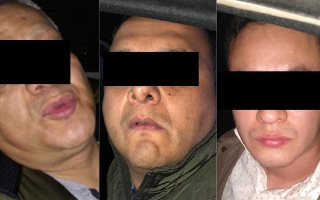 Detienen en la Miguel Hidalgo a tres hombres por robo a casa habitación - Ladrones de casa habitación en la MH. Foto de @vromog / LDD
