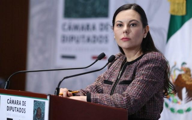 Pide Laura Rojas que imperen principios diplomáticos entre México y Bolivia - Foto de Cámara de Diputados