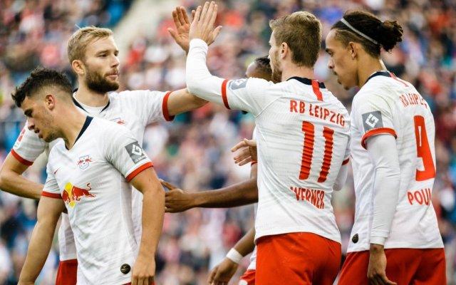 RB Leipzig va por el liderato de la Bundesliga ante Dusseldorf - Foto de @DieRotenBullen