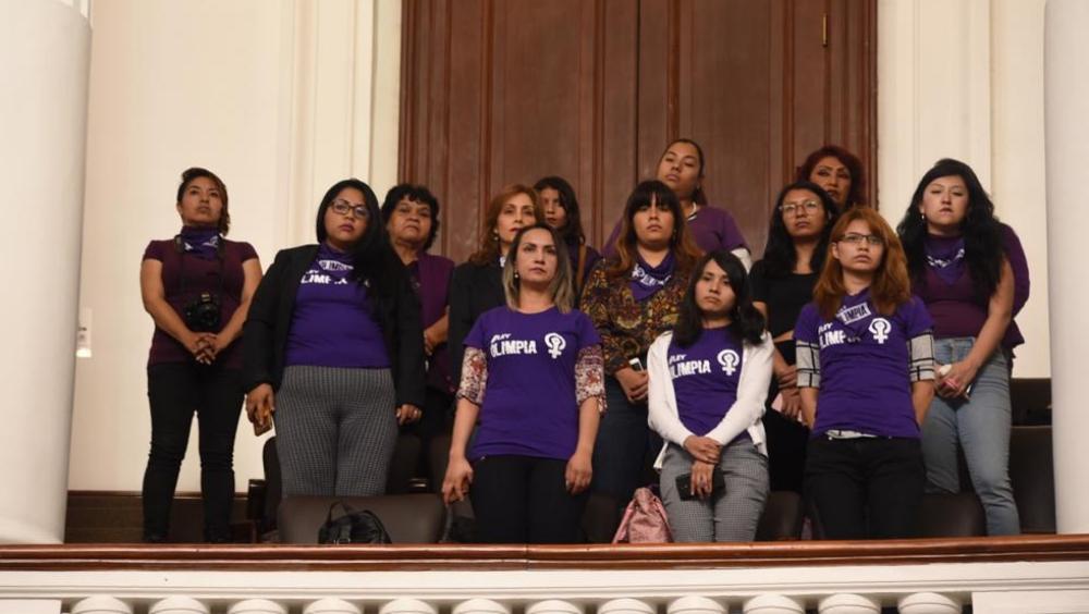 Mujeres confían que Congreso de la CDMX avale dictamen de Ley Olimpia - Mujeres confían que Congreso local avale dictamen de Ley Olimpia