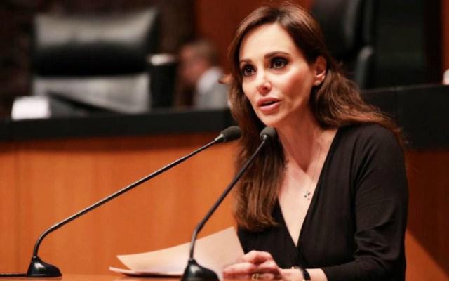 Pide Comisión de Morena separar a Lilly Téllez de su bancada en el Senado - Foto de Lily Téllez