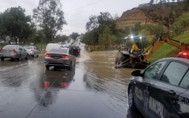Lluvias dejan en Tijuana inundaciones y deslaves - Foto de @BereniceDiazG