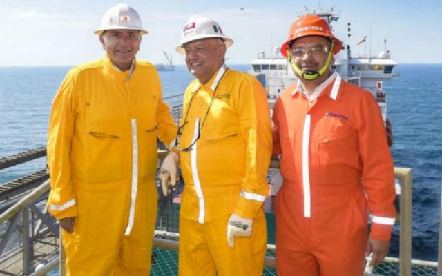 Comprará Pemex siete plataformas para explorar en el Golfo de México - Foto de lopezobrador.org.mx