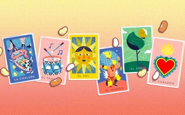 Google celebra la lotería mexicana con doodle interactivo - Lotería Doodle. Foto de Google Doodle