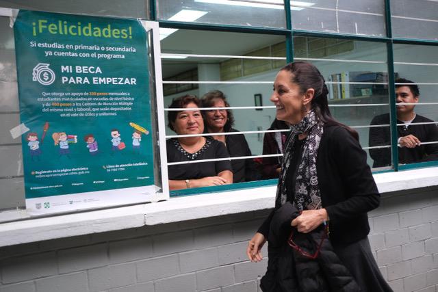 Lejana - CIUDAD DE MÉXICO, 02DICIEMBRE2019.- Claudia Sheinbaum, jefa de Gobierno, encabezó La Jornada